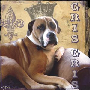 gris gris pastel painted