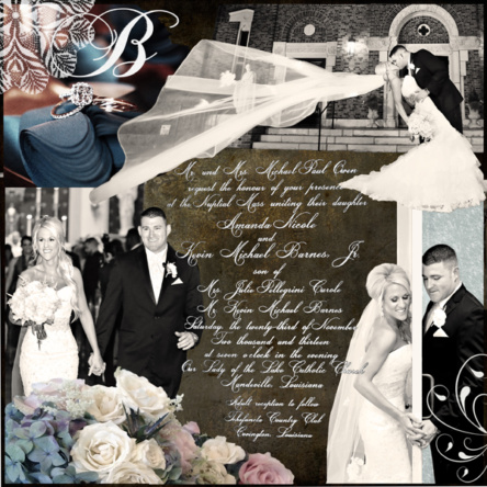 Custom Wedding/Engagement (Example)