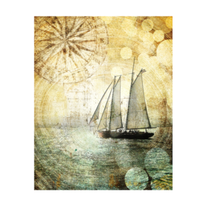 Sailboat Art San Diego Canvas