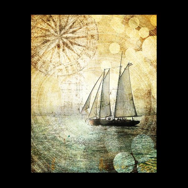 Sailboat Art San Diego Canvas