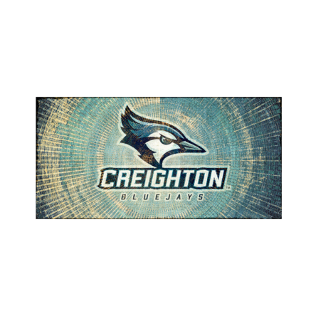 Creighton Bluejays Canvas