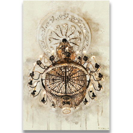 Royal Orleans Chandelier Canvas