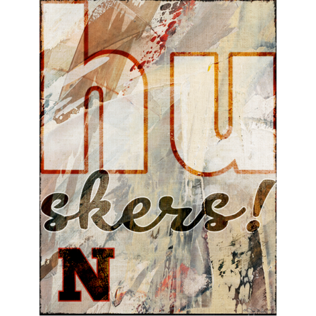 Mod Huskers Canvas