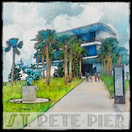 St. Pete Pier Canvas