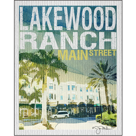 Lakewood Ranch Main Street Canvas Print (Customize your City)