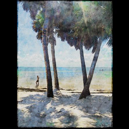 St. Pete Bayfront Watercolor Canvas